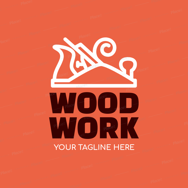 Placeit Carpenter Logo Maker For Wood Work Professionals