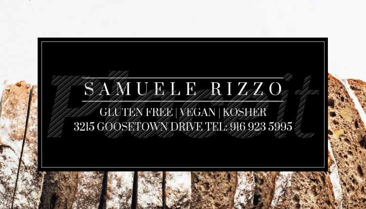 Gluten Free Bakery Business Card Template 61bForeground Image