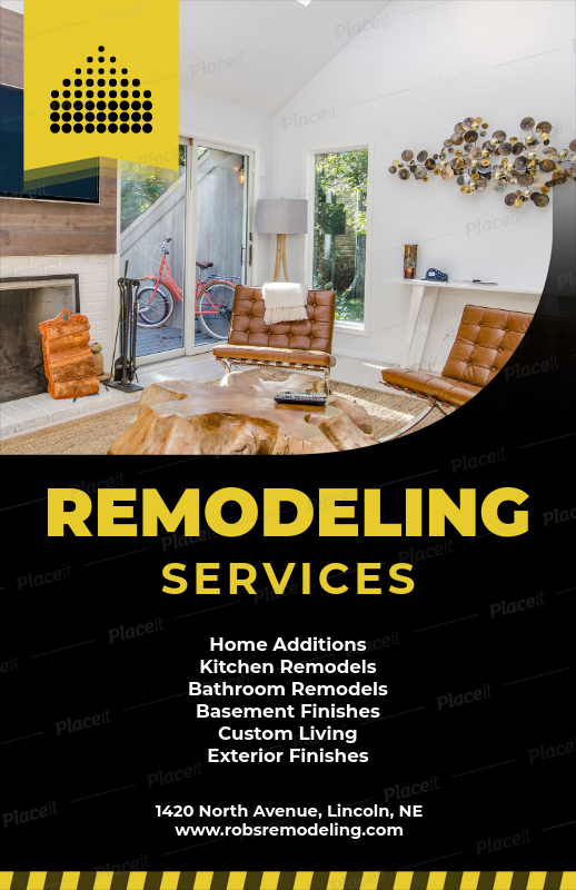 Placeit - Home Remodeling Companies Flyer Template on home addition companies, home staging companies, home power washing companies, home jewelry companies, home manufacturing companies, entertainment companies, home heating companies, home decor companies, flooring companies, air conditioning companies, home loans companies, home window replacement companies, home hardware companies, home installation companies, home insurance companies, home security systems companies, home health companies, window installation companies, home insulation companies, lawn care companies,