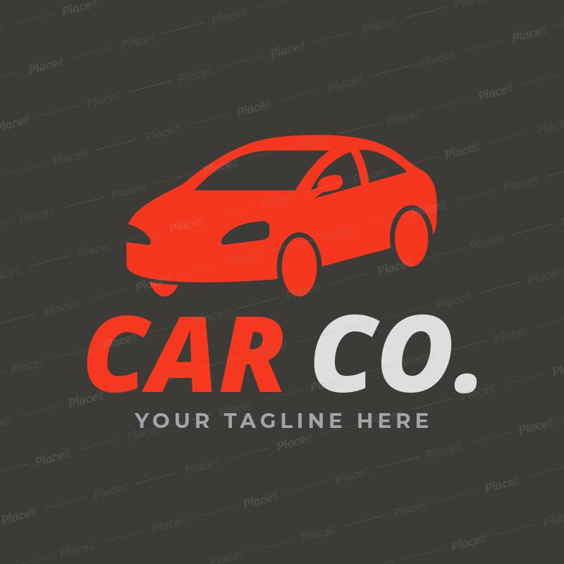 Car Dealership Logo Maker A1189Foreground Image