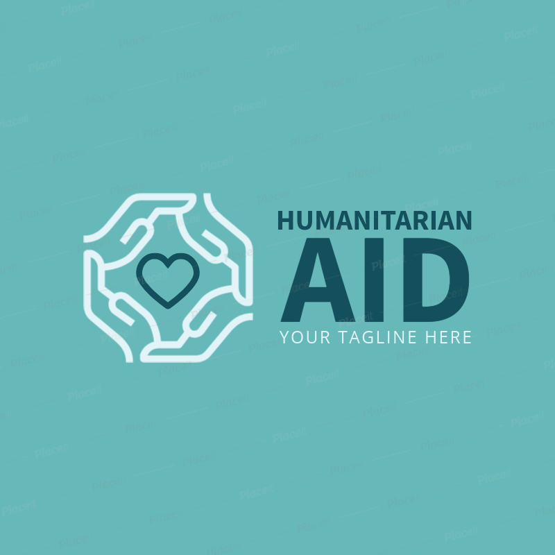 Placeit logo maker for humanitarian aid organization logo maker for humanitarian aid organization 1336d foreground image reheart Gallery
