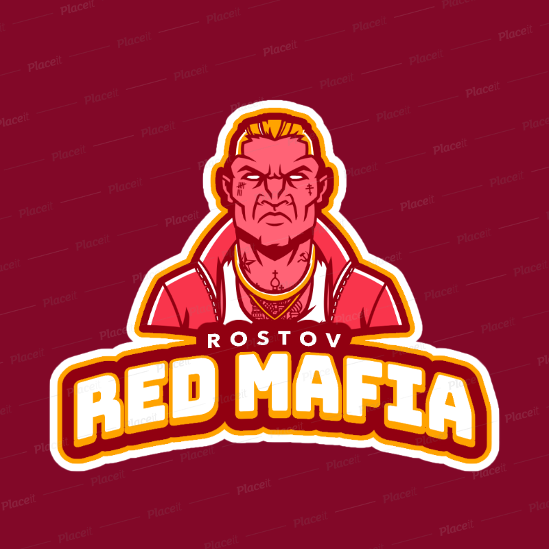 Team Logo Generator with a Russian Mobster Clipart 21h