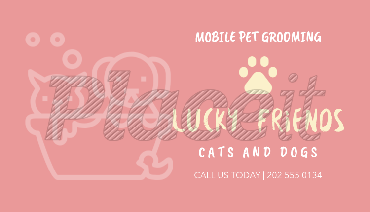 Placeit business card maker for pet bath businesses business card maker for pet bath businesses 298c foreground image reheart Choice Image