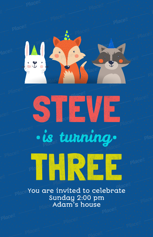 Placeit Flyer Template To Design A Birthday Party Flyer