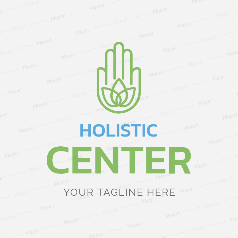 69d5ec29 Placeit - Custom Logo Maker for Holistic Centers with Hamsa Hand Icon