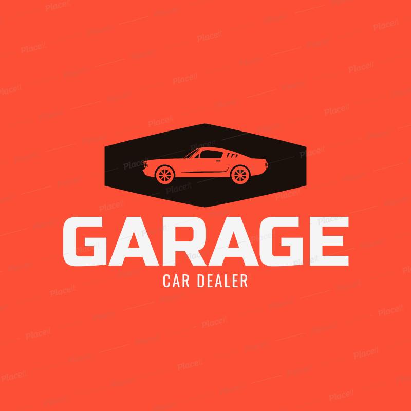 Placeit Car Dealer Logo Maker