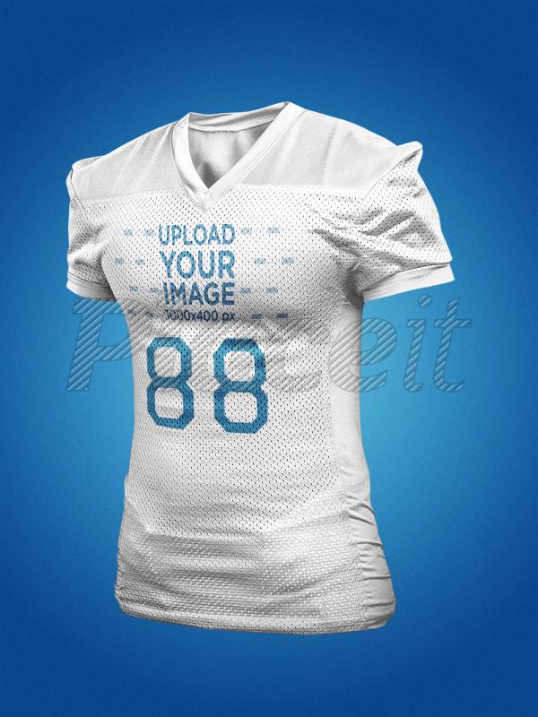 39879b767d4 Placeit - Custom Football Jersey Maker - American Football Jersey