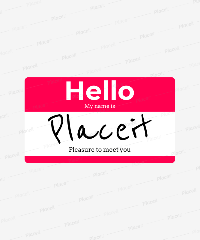 Placeit name tag tee design template cool name tag t shirt design template 387foreground image maxwellsz