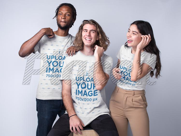 2 Black Guys Fuck White Girl