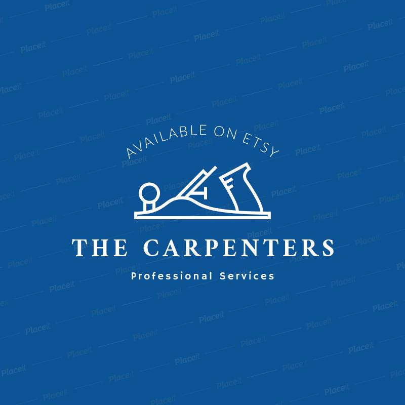 Carpentry Online Logo Creator 1401a