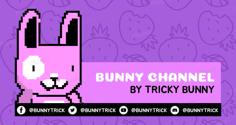Pixel Art Twitch Banner Generator for Gaming Streamers 1449c